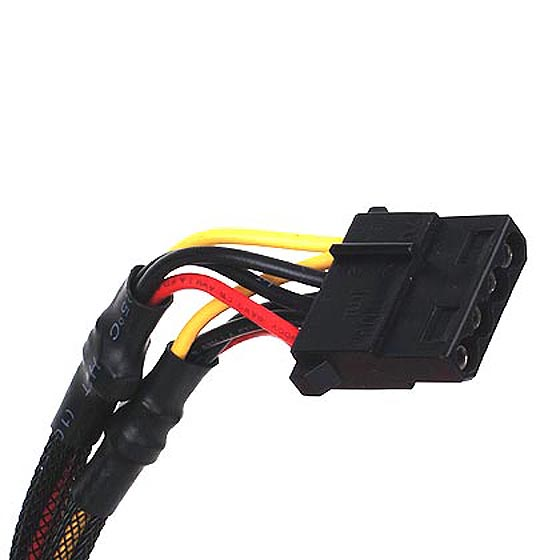 4-pin peripheral connector x 6